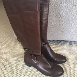 Nine West Brown Riding Boots